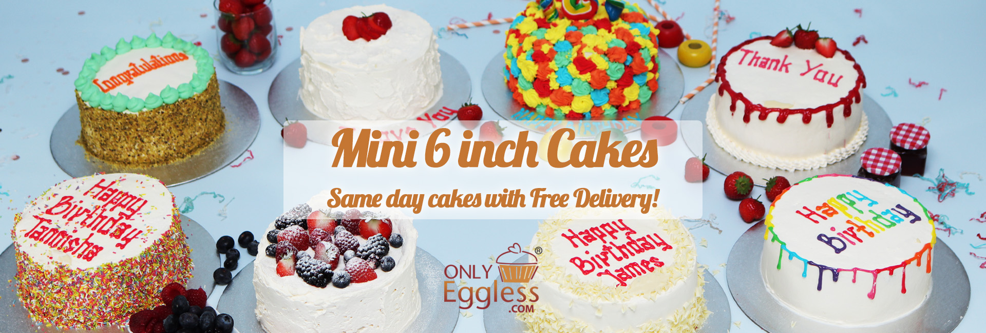 6 Inch Cakes