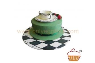 Tea at the Ritz Cake / Mad Hatters Cake (C174)