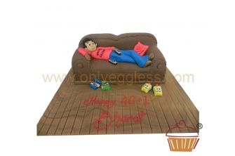 Lazy Person Cake (C181)