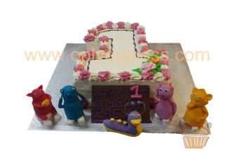 Number One Cake (C309)