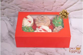 Assorted Christmas Party Cupcakes Selection Box (XMAS16PARTY)