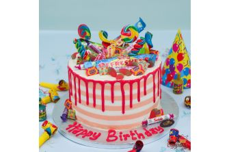 Pick and Mix Overload Candy Cake (A2681)