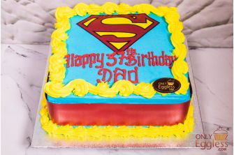 Super Dad fathers Day Cake (FDC2)