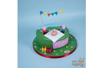 Pig Party Cake (A629)