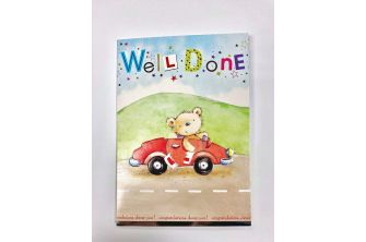 Driving Test Well Done Card (CD213)