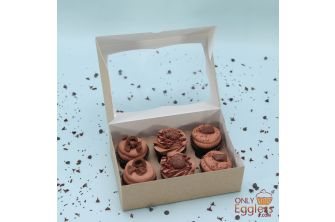 Lindt, Ferrero Rocher and Galaxy Chocolate Cupcakes