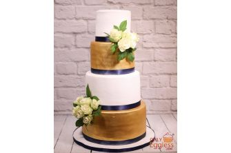 Four-tiered Cake