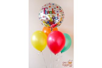 Thank You Balloon Bouquet Package Gift