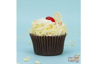 White Forest Cupcake (A1254)