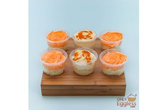 Vegan Bakers Special Exotic Selection Cake Pots