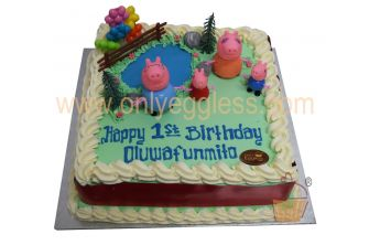 Peppa Pig Clubhouse Cake (C1450)