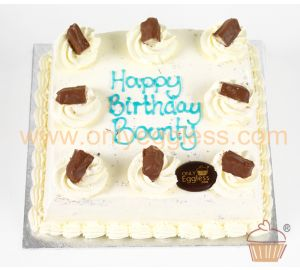Cool Coconut Cake with Bounty