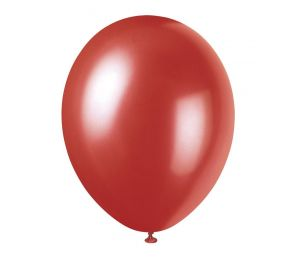 Red Pearlized Helium Balloon (P1135)