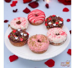 Valentine's Day Doughnut Selection (A2489)