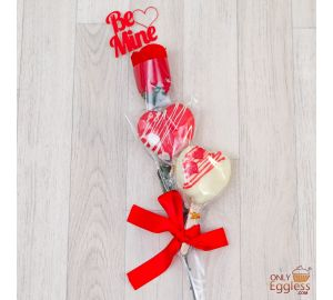 Valentine's Day Heart Cakesicles Gift