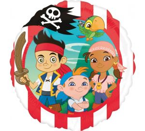 Jake & and the Never Land Pirates Foil Balloon (P381)