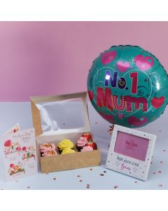 Mother's Day Cupcake + Frame Gift Set (A2560)