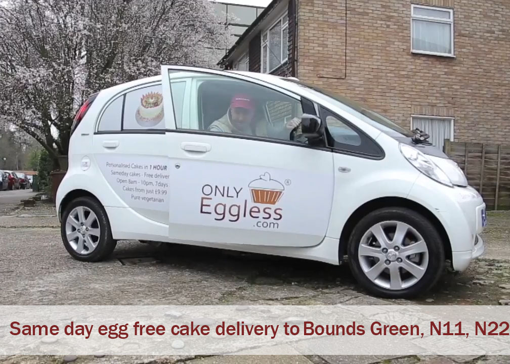 Sameday cake delivery Bounds Green , London, N11, N22